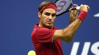 Best Roger Federer Drop Shots   2017 & 2018 US Open
