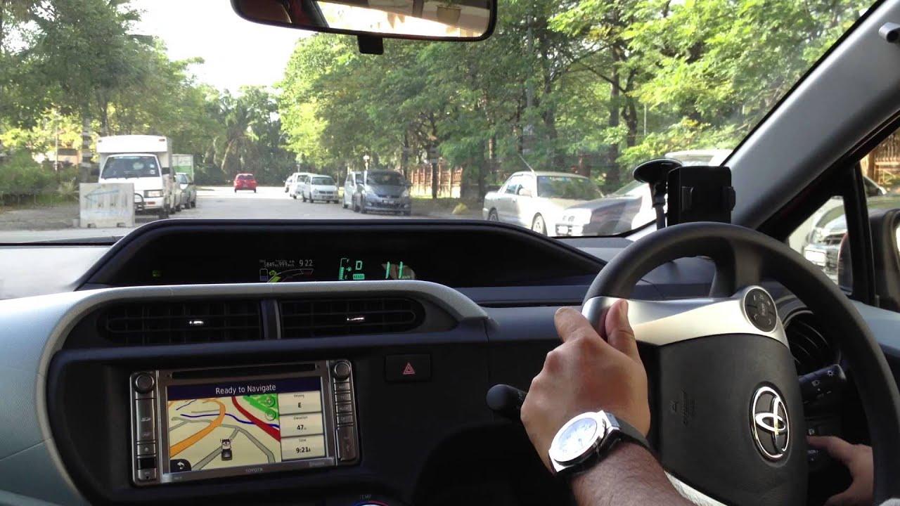 Eco Modepion Toyota Prius C Starts With Ev Mode