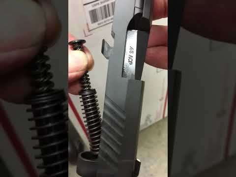 Sig P320 compact  45 loose recoil spring by chia