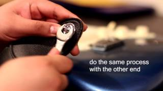 Fender Strap Locks How to use