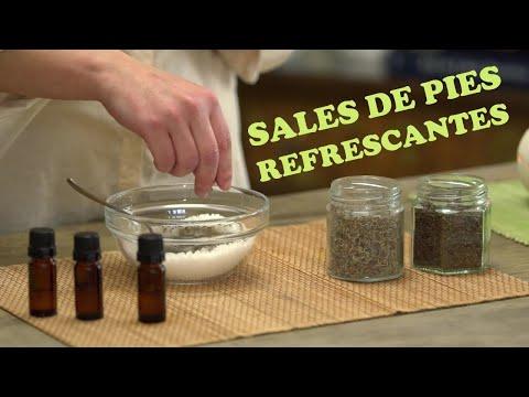 Spa de Pies: prepara tus Sales Refrescantes con Menta, Tea Tree y Lemongrass