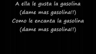 Repeat youtube video Gasolina lyrics