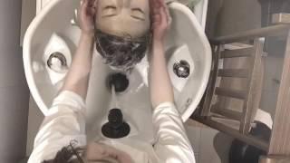 【音フェチ】気持ちよくて癒されるシャンプーを上から覗いてみました★ thumbnail