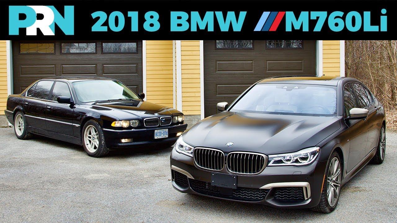 Classic Meets Modern 2018 Bmw M760Li Testdrive Spotlight