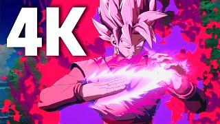 Dragon Ball FighterZ - 4K Full Matches Gameplay | Goku, Black, Beerus, Hit