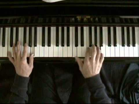 Learn blues piano lesson 3