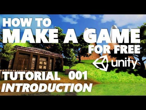 Unity Tutorials For Beginners - How To Make A Game - Part 001