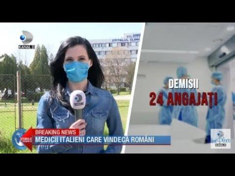 Stirile Kanal D (03.04.2020) - Dupa Demisii In Masa, Medicii Italieni Vindeca Romanii!
