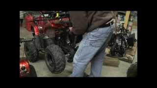 Changing Oil in 110cc and 125cc Models
