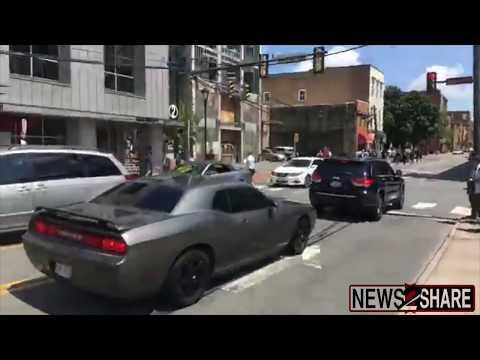 Charlottesville Car Attack: Full Livestream