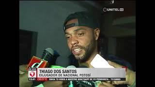 Baixar Nacional Potosí decide rescindir el contrato con Thiago Dos Santos