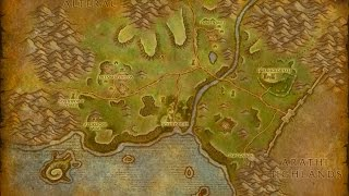World of Warcraft Cataclysm and Classic Maps Comparison