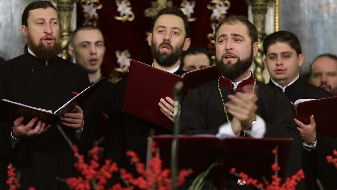 """Ia sculați voi gazde mari - Grupul psaltic """"Tronos"""" - Biserica """"Sfântul Gheorghe"""" Vechi"""