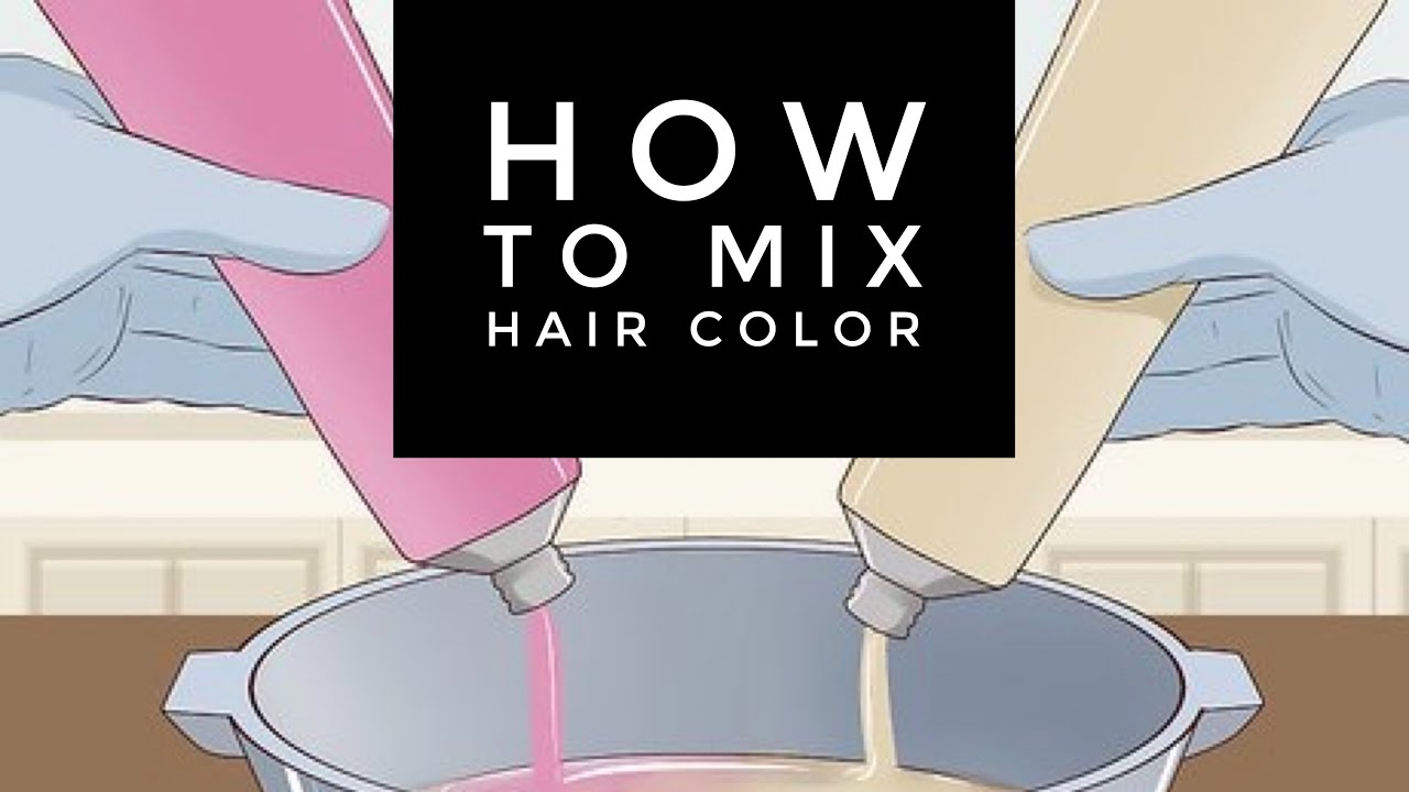 How to Mix Hair Color.