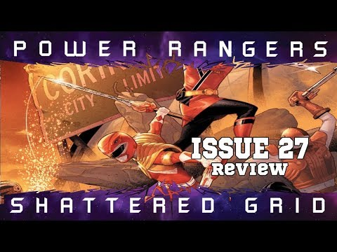 Mighty Morphin Power Rangers Issue 27 Spoiler Review Fighting A War