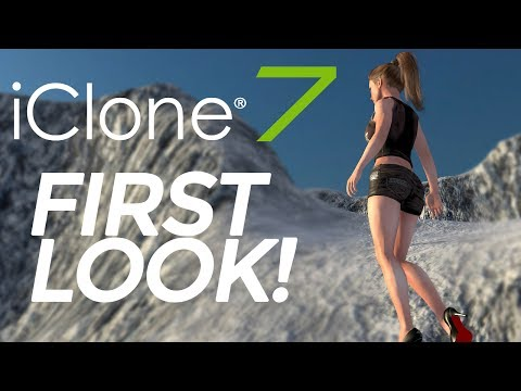 First look at iClone 7 ( review )