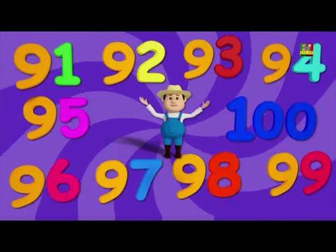 O Número de Canção | Música Infantil na Pré-Escola | Number Song | Preschool Rhymes