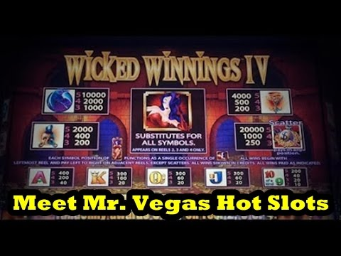 Vegas 2015 Wicked Winnings 4 Meet Mr Vegas Hot Slots