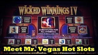 Vegas 2015!  Wicked Winnings 4!  Meet Mr. Vegas Hot Slots!