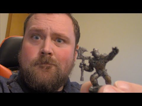 My D&D Characters | Sunder, The Warforged Barbarian | Adam Rowe