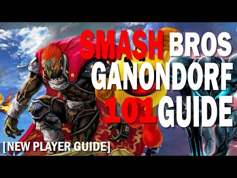 Getting Started with Ganondorf in Super Smash Bros Ultimate [101 Guide]