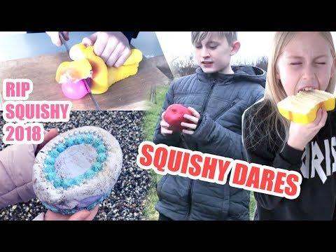 Sjove Squishy Dares 😂 YOUTV ❤️
