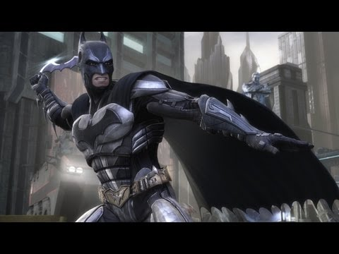 TKN Plays - Injustice: Gods Among Us, Batman's Adventure【HD】