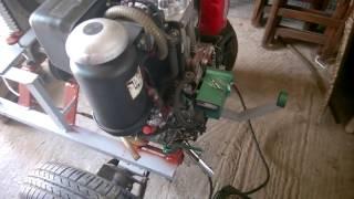 видео Двигатель Hatz 1D81