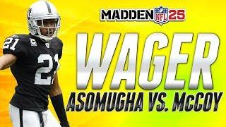 Madden 25 ultimate team | 40k card wager game: asomugha vs. mccoy | mut 25