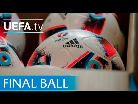 See how the final match ball is made