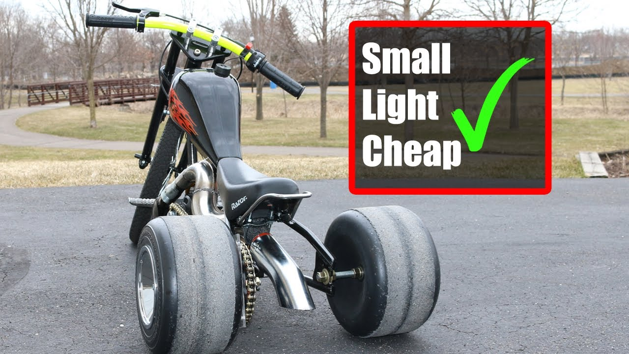 Pocket Drift Trike Build For Kids! No Welder Required