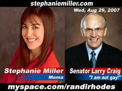 Stephanie Miller makes fun of Larry Craig