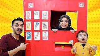 Yağız Pretend Play with Giant Vending Machine Kids Toy
