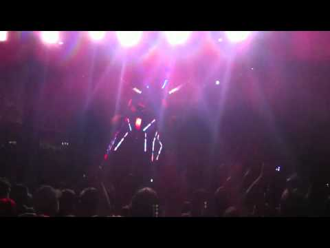 Skrillex Bonnaroo 6/10/12 - Flux Pavilion, Bass Cannon, First of the Year (Equinox)