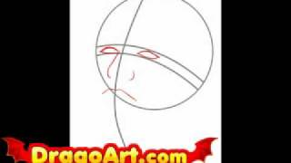 How to draw Damon Salvatore, step by step