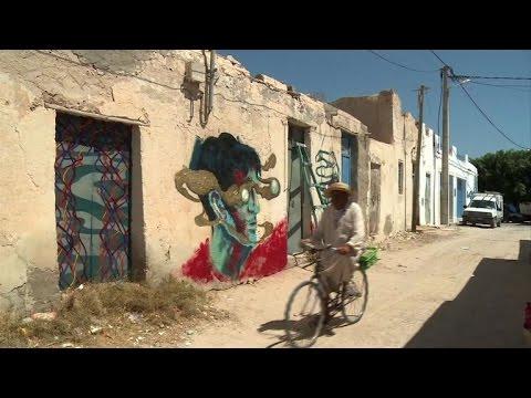 Street art is bringing life to a sleepy Tunisian tourist town