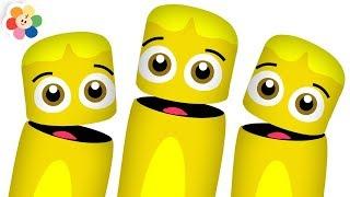 ¡Aprende Los Colores! | El Color Amarillo | Los Colores En Español | Pandilla de Colores | BabyFirst