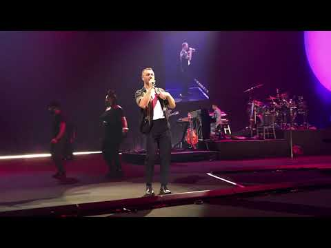 Promises Sam Smith live in Macau MGM Theatre