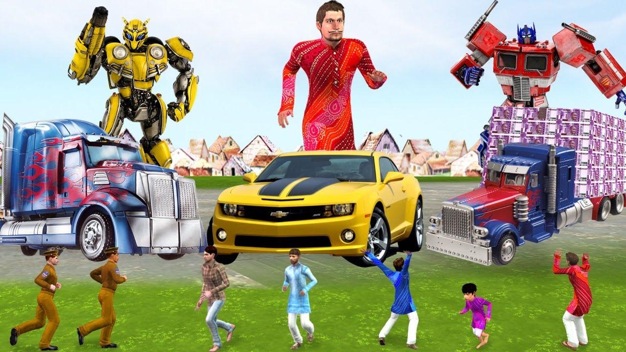 भविष्य की तकनीक Future Technology Hindi Comedy Video Hindi Kahaniya Must Watch Funny Comedy Video