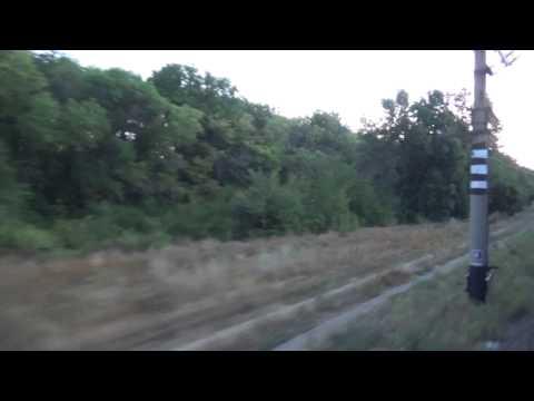 РЖД поезд 464 Поворино отправление 36 часть