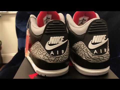 "Air Jordan 3 ""Black Cement"" With Nike Air (Dope or Nope)"