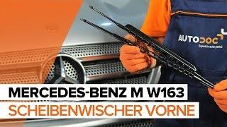 Wie MERCEDES-BENZ M-CLASS (W163) Frontscheibenwischer austauschen - Video-Tutorial