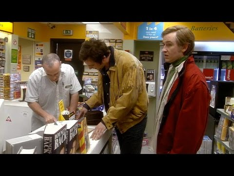 Alan VS Tex & The USA - I'm Alan Partridge - BBC