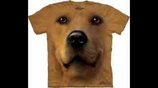 Мордочки животных на 3D футболках от фирмы The Mountain