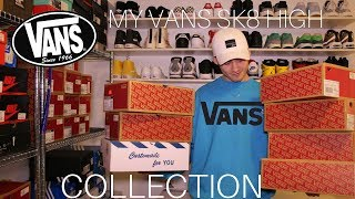 MY VANS SK8 HIGH COLLECTION