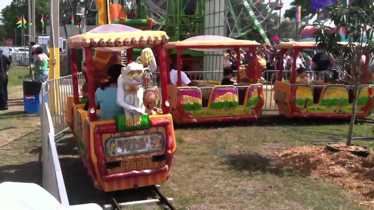 Strawberry Festival Train - YouTube