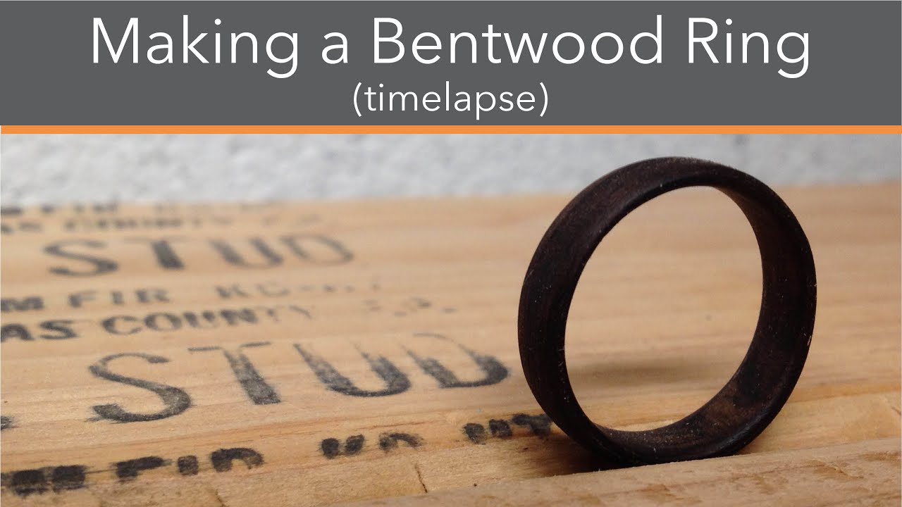 The making of Bentwood ring time lapse