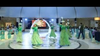 Кыз узату Свадьба в Актобе Выход Невесты