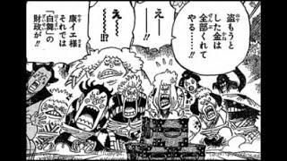 ワンピースネタバレ ワノ国の侍赤鞘9人男 強さ!