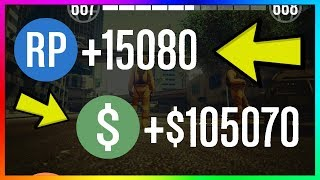 How To Make $105,000 & 15,000 RP PER GAME in GTA 5 Online | NEW Best Unlimited Money Guide/Method